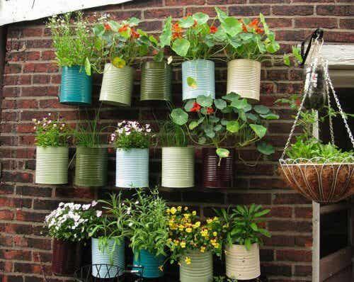 Gör din balkong till en liten trädgård