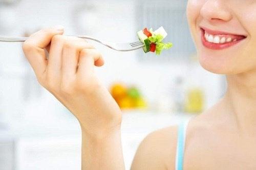 äta grönsaker