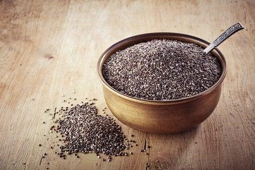 chiafrön innehåller omega 3