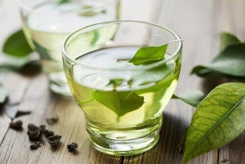 Gröna teblad