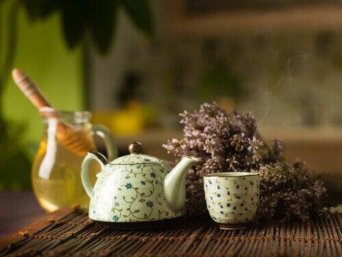 honung och te