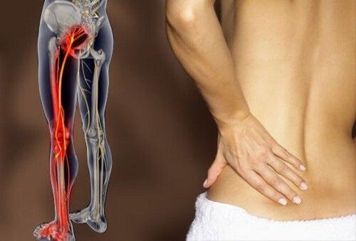 Smärta i ryggen