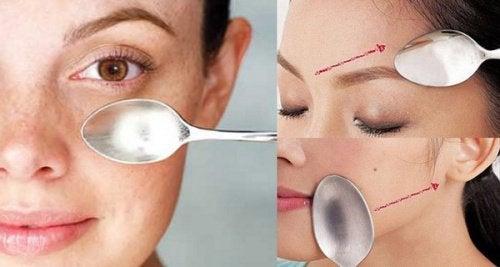 Upptäck fantastisk ansiktsmassage med skedar