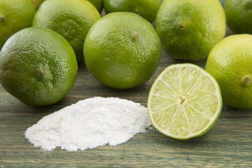 Lime och bikarbonat
