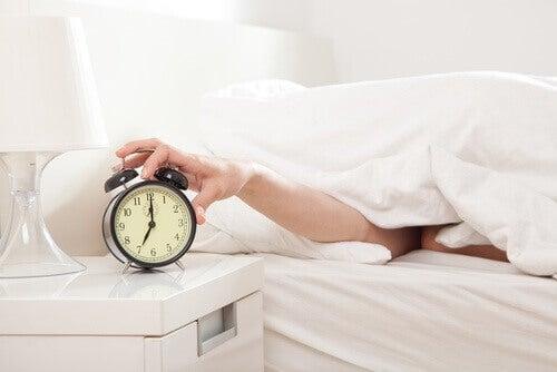 Följ ett sömnschema
