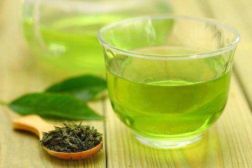grönt te viktnedgång