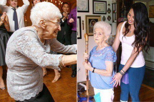 Hur yoga förändrade en 87-årig kvinnas hållning & liv
