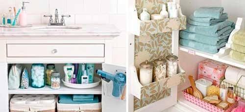 Knep för att hålla badrummet rent