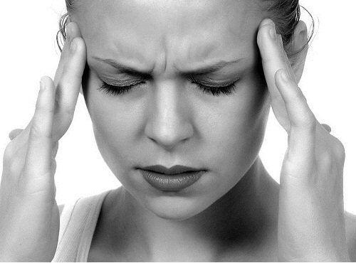 Huvudvärk är ett tecken på stress