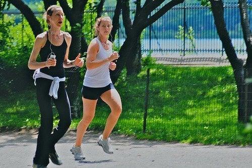 Kvinnor som löper
