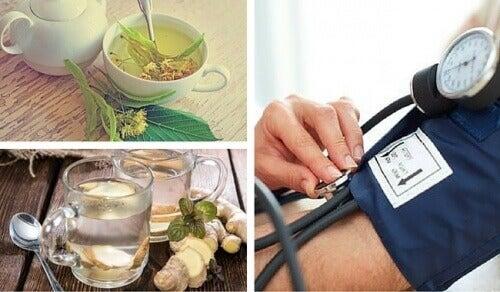 Naturliga huskurer för lågt blodtryck