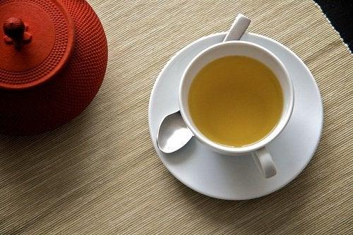 te på meliss