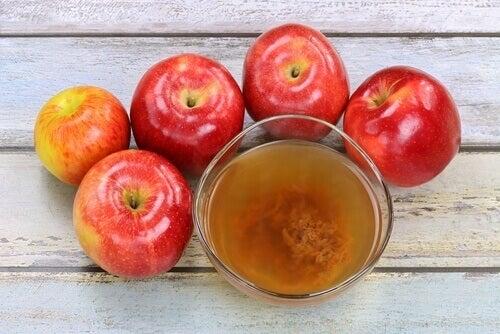 Äppelcidervinäger är bakteriedödande