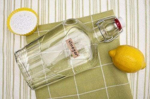 Vinäger och citron
