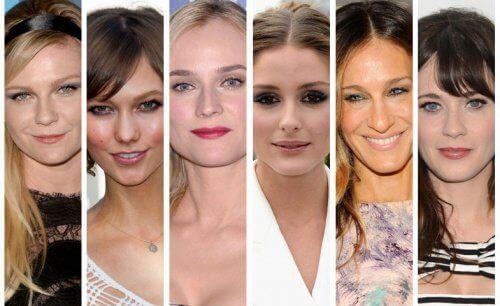De bästa frisyrerna för varje ansiktsform