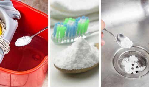 6 utmärkta användningar för bikarbonat