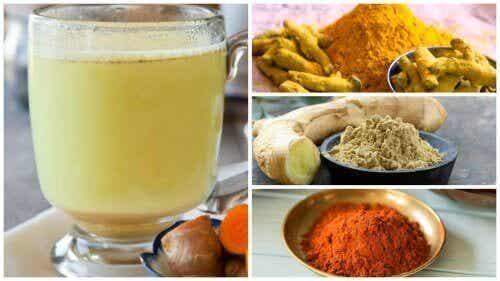 Avgifta kroppen med ingefära, gurkmeja & cayennepeppar