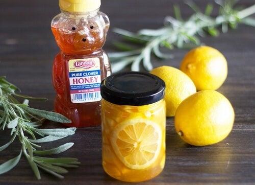 citron-och-honung