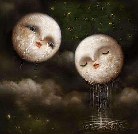 gråtande månar