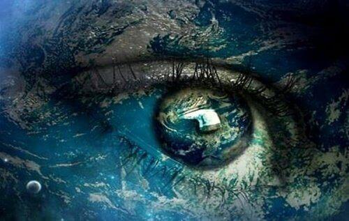 Jorden i öga