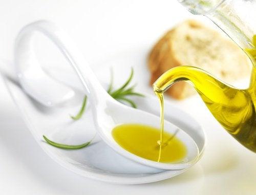 Olivolja i sked