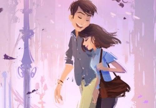 promenerande-par