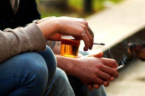 Sluta med rökning och alkohol