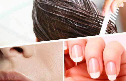 De 5 bästa ingredienserna för friskt hår, hud och naglar