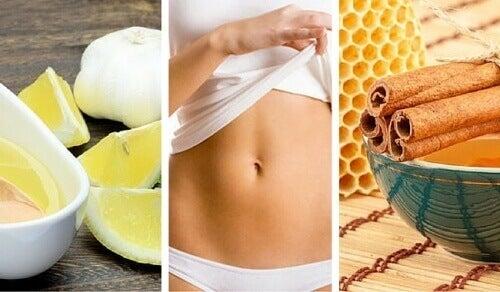 Få plattare mage med naturliga kurer