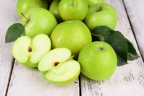 Gröna äpplen