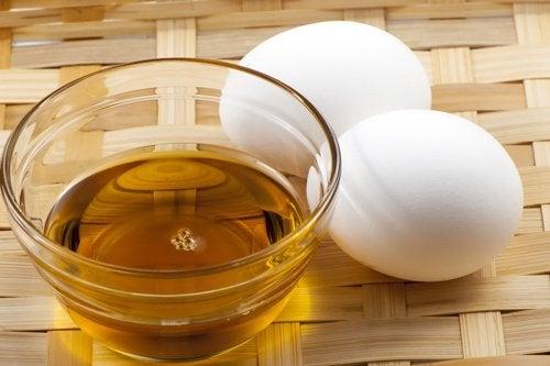 honung och ägg