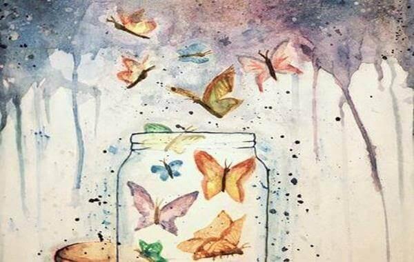 Fria fjärilar