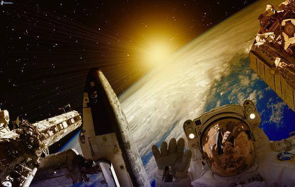 astronaut-i-rymden