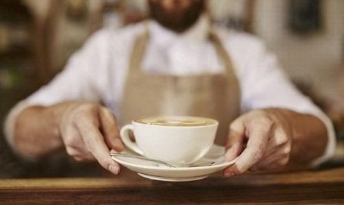 cappuccino i kopp