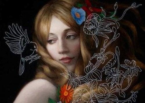 faglar-och-kvinna