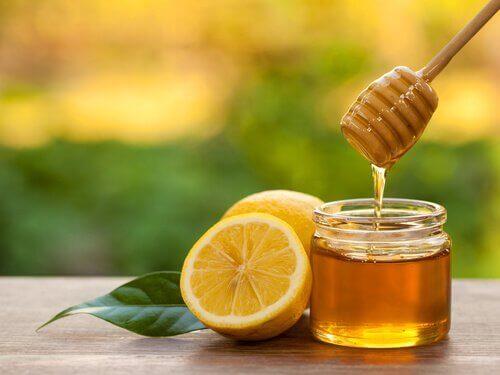 Honung och citron