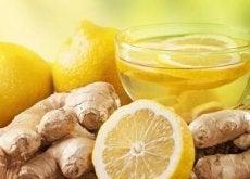 Ingefära och citron för att stoppa migrän