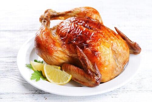 Återuppvärm inte kyckling