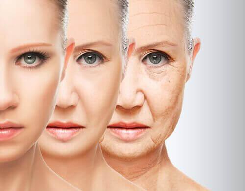 Åldrande kvinna
