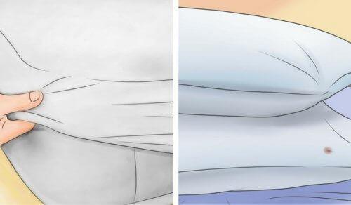 Hur du bleker dina madrasser och kuddar