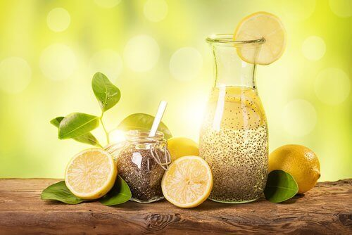 Snabb viktnedgång med citron, ingefära och chiafrön