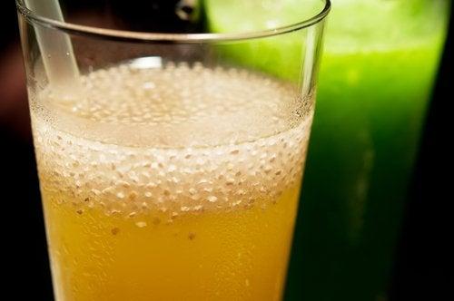 Juice för snabb viktnedgång