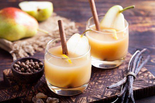päron och kanel