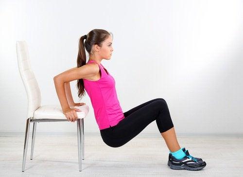 Träning med stol