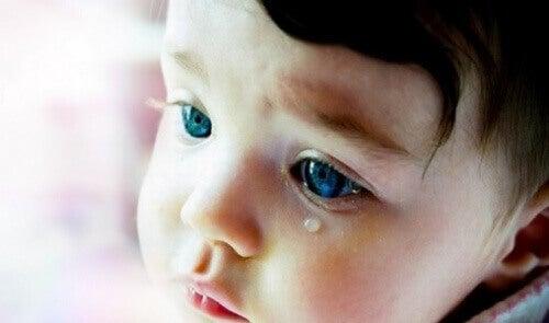 Bebis som gråter