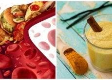 Livsmedel som rensar tilltäppta artärer