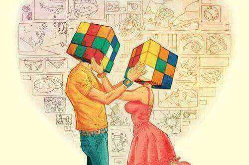 Par med Rubiks kuber