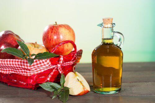 äppelcidervinäger mot död hud