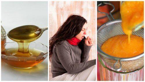 Bekämpa slem med en honungs- och morotssirap