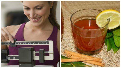 Gå ner i vikt med te på kanel och lagerblad